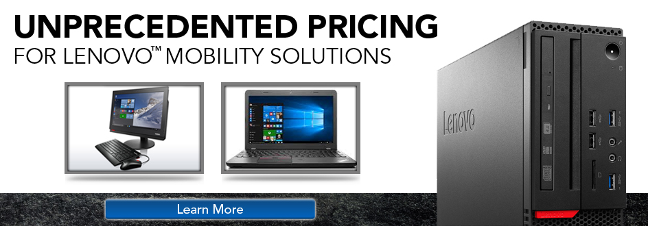 Lenovo Unprecedented Pricing